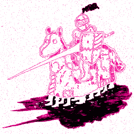 Graphic of a knight